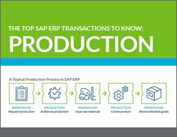 Top SAP Production T-Codes