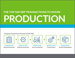 Top SAP Production T-Codes
